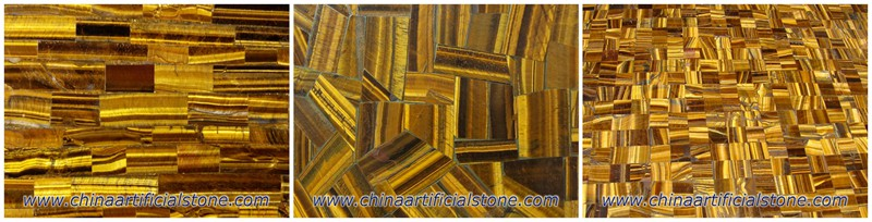 Tiger Eye Slab Patterns