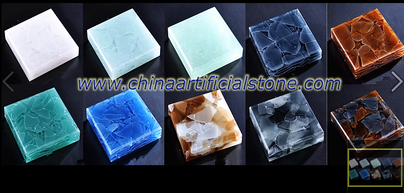 Jade Glass Stone Glass 2 surface