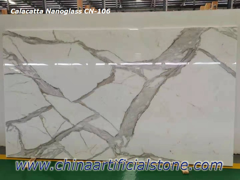 China Artificial Calacatta Stone slabs