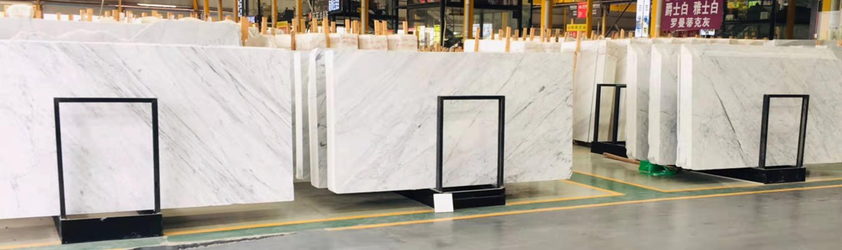 Bianco Carrara White Marble in Shuitou Marble Market