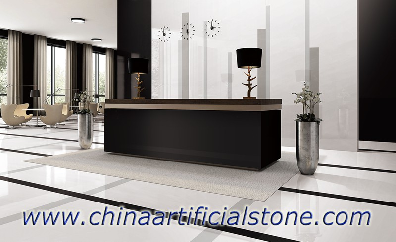 Pure Black Sintered Stone Countertops