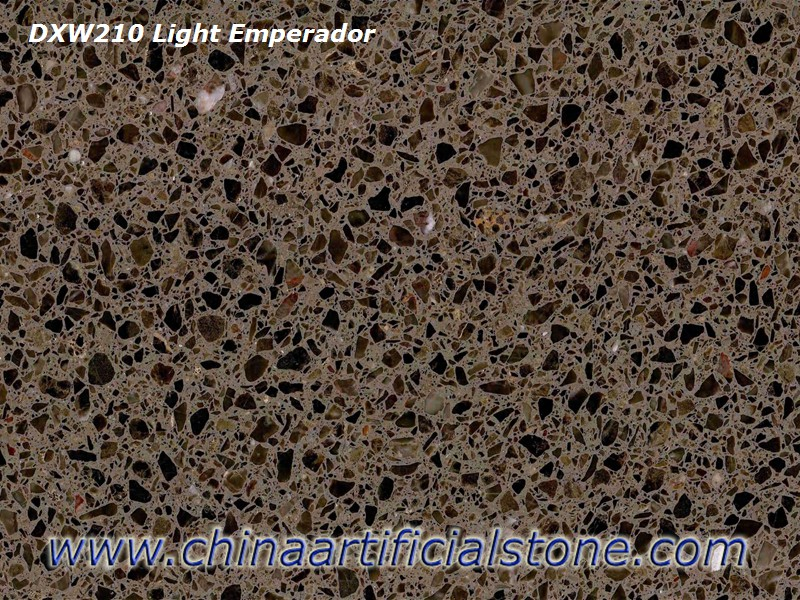 Light Brown Terrazzo Tiles and Slabs