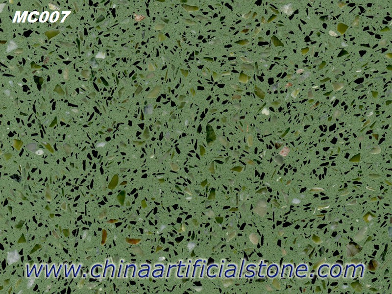 Green Terrazzo Flooring Tiles and Slabs